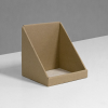 Small square Cardboard counter display with low front - kraft