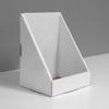 High Cardboard counter display - white