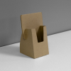 Small Cardboard counter display for business cards or small pamphlets - kraft