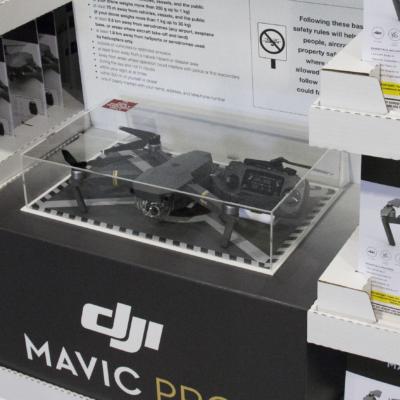 DJI customized display