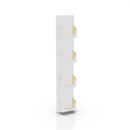 Cardboard display sidekick for dvd - 3d