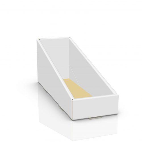 Cardboard counter display - 3d